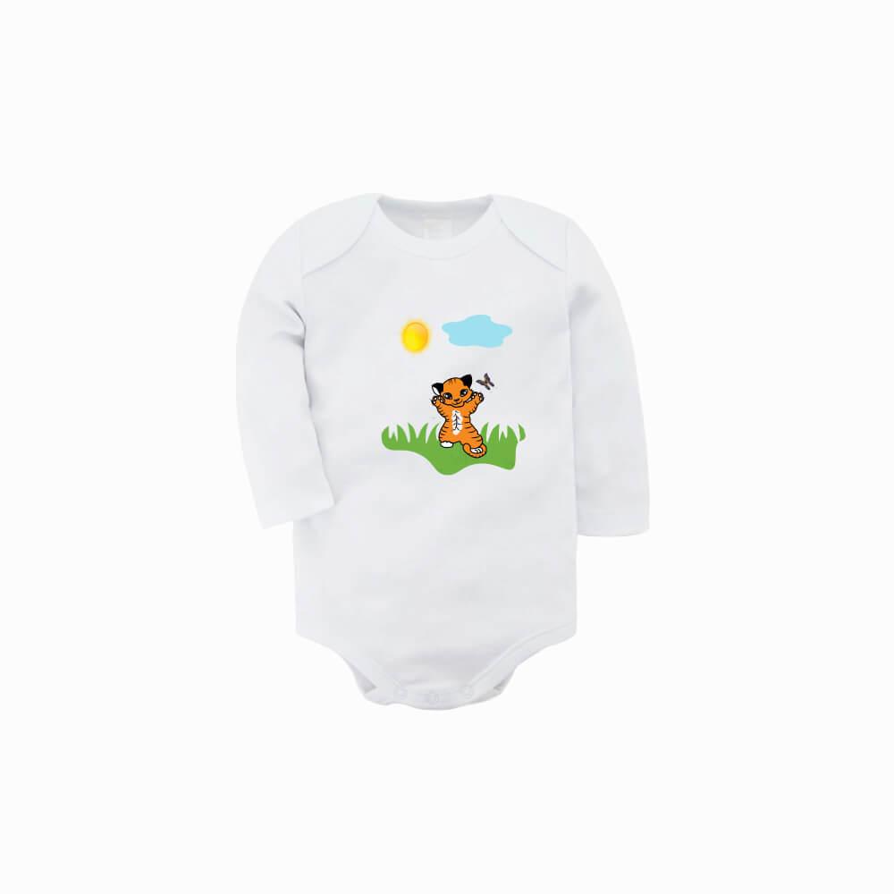 tiger, bodi, darilo, tisk, newborn_body, unikat, darilo, rerum