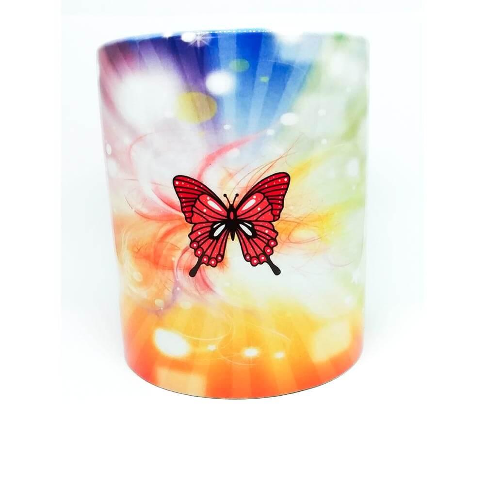 mavrica, pomlad, metulj, skodelica, darilo, rerum