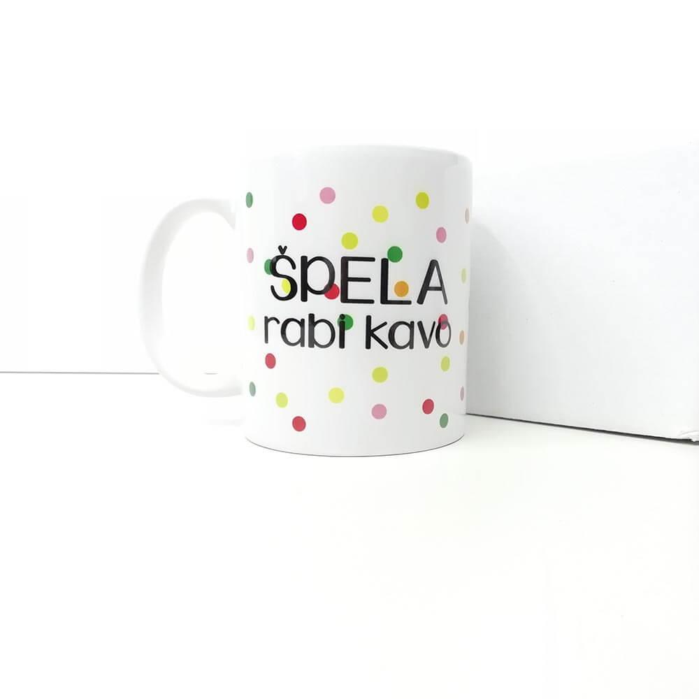 spera_rabi_kavo, skodelica, tisk, unikat, love, pike pisana_skodelica