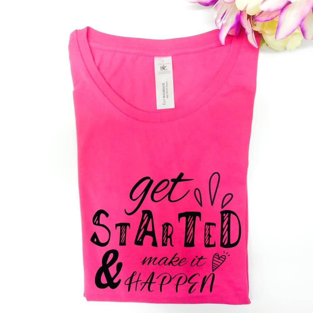 get-started, majica, tisk, darilo, tisk_na_majico,