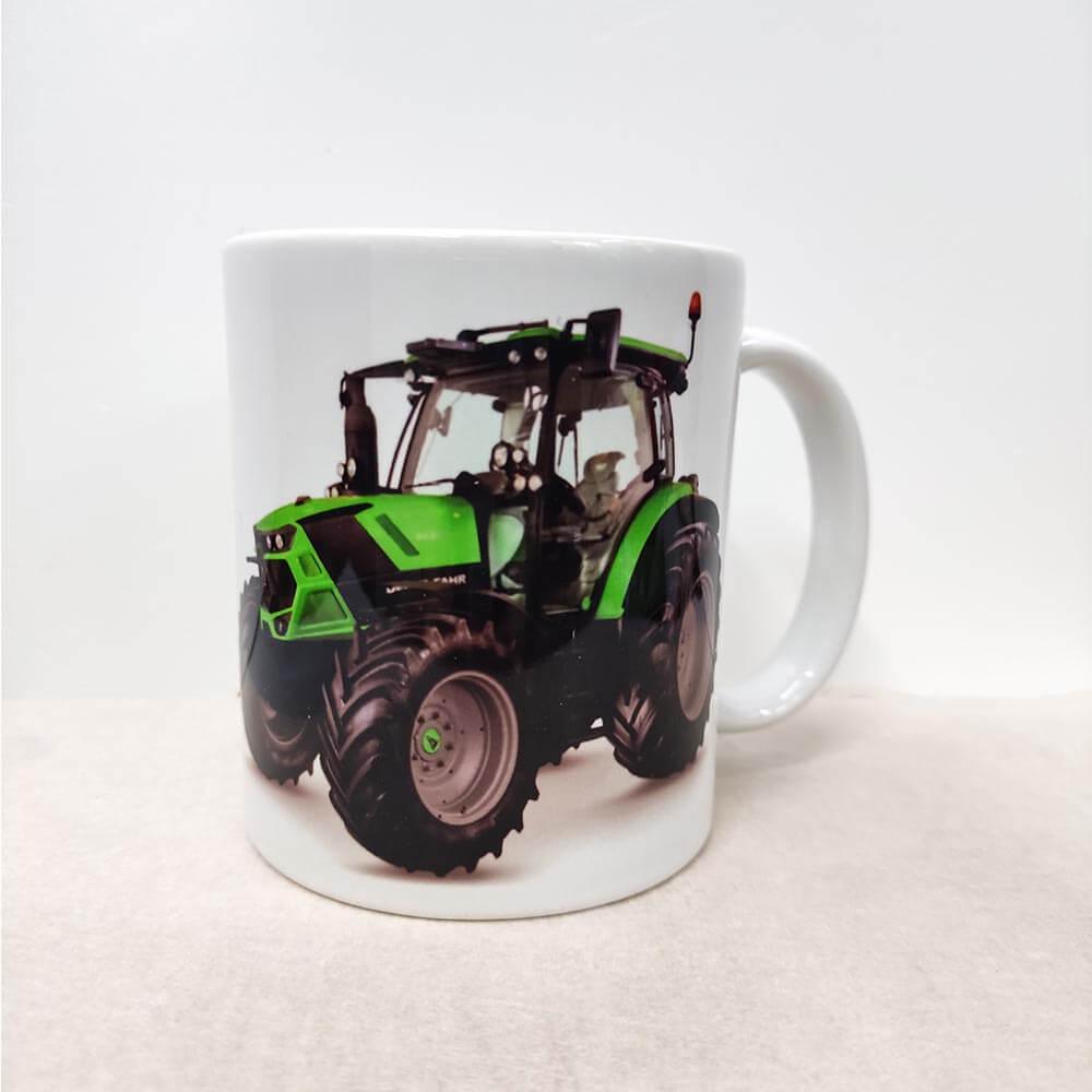 traktor deutz, skodelica traktor, traktor šalica, šalica, rerum, darilo, tisk