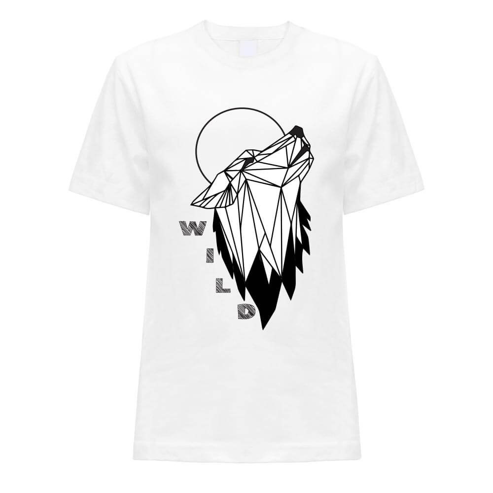 wild, majica tisk, darilo unikat volk
