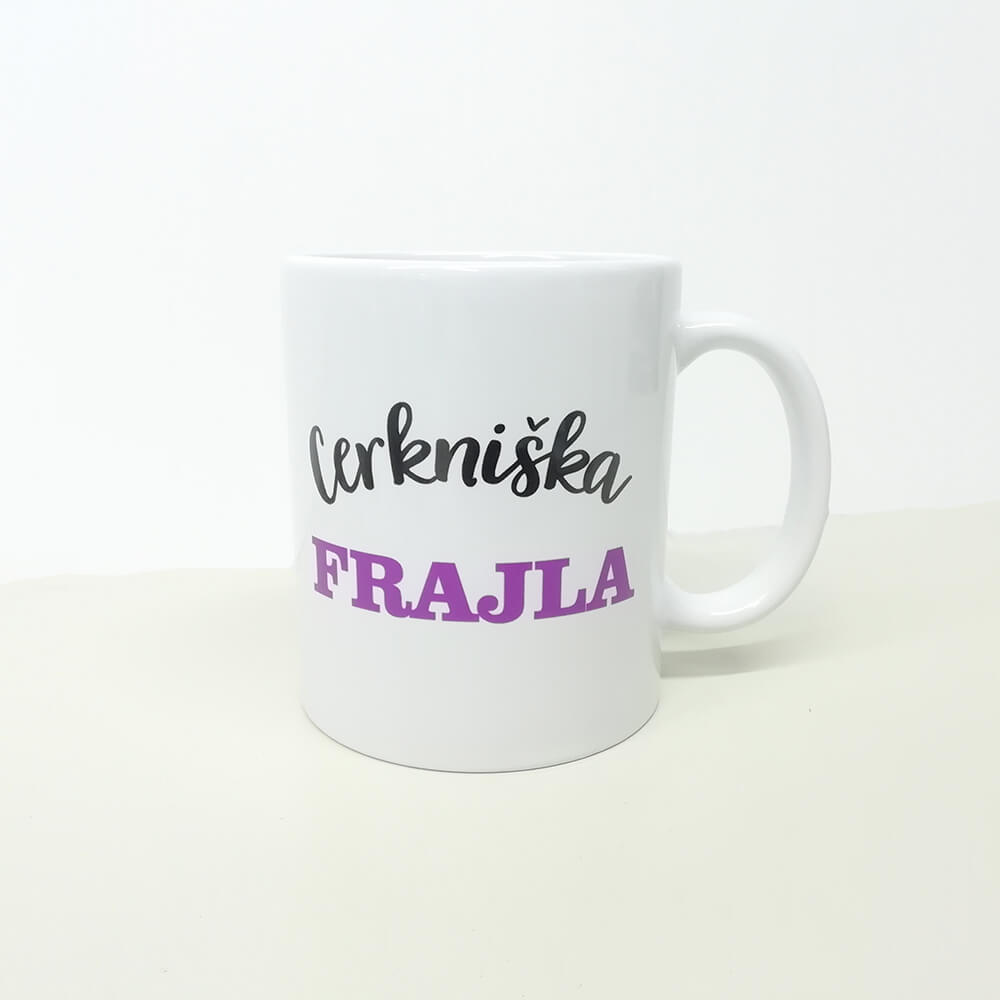 cerkniska_frajla, darilo, tisk, skodelica, frajla, narečje, slovenija, darilo, personalizacija