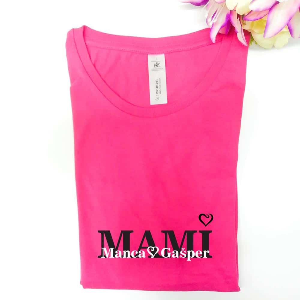 mami, darilo, darilo_za_mami, personalizirano_darilo, unikatno_darilo, majica, ženska_majica, personalizacija, rerum,