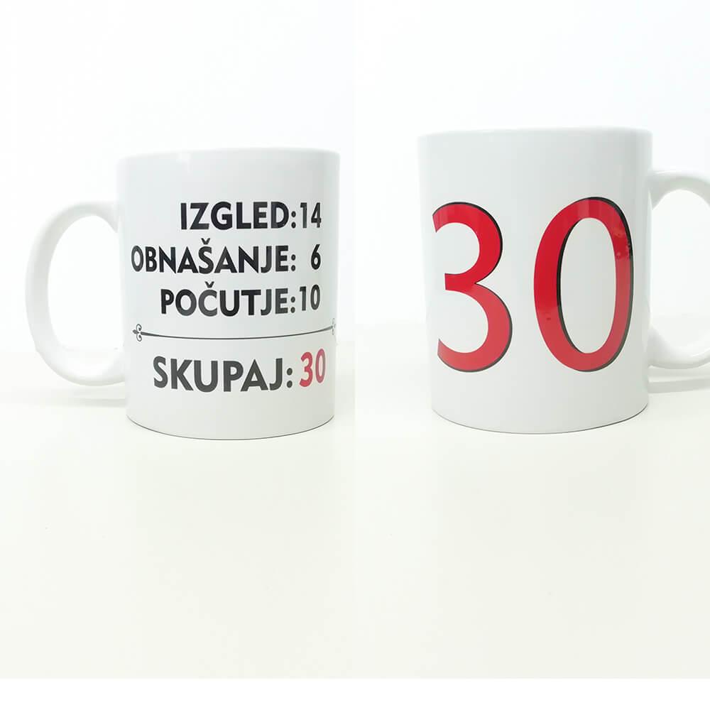30, rojstni_dan, darilo, tisk, skodelica, spomin, jubilej,