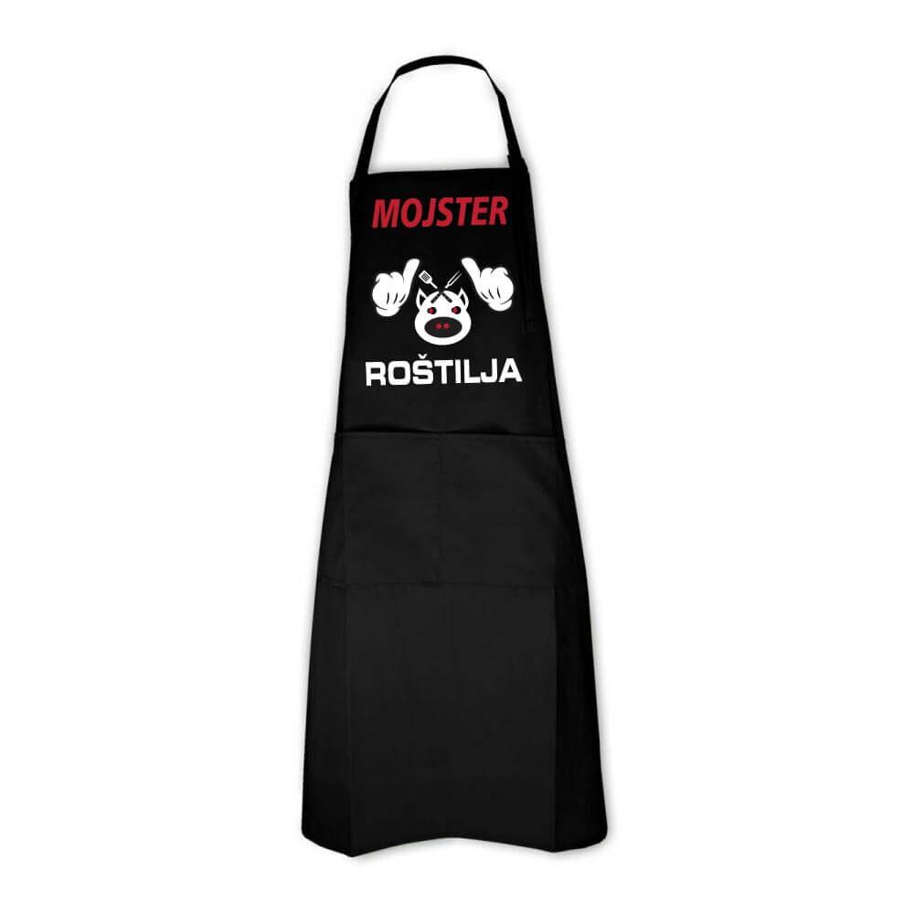 mojster roštilja, predpasnik za prave mojstre roštilja, darilo, predpasnik, tisk, rerum