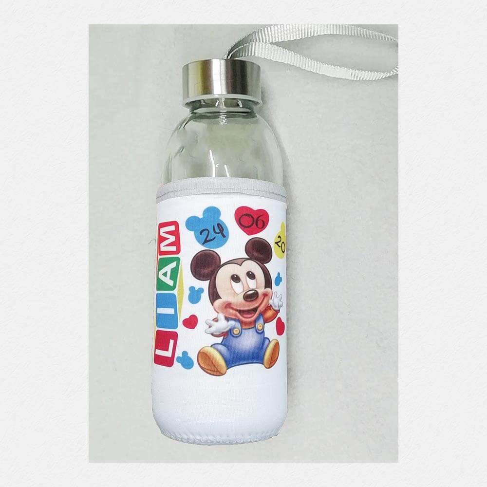 steklenica_z_neopranom, steklenica_z_imenom, neopran, stekelnica, darilo, darilo_za_mami, newborn, baby, mickey_baby