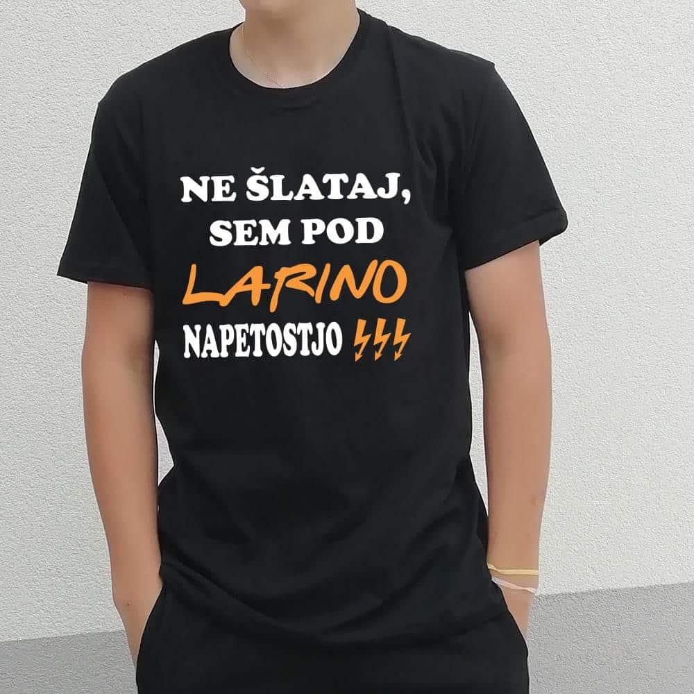 ne_slataj_sem_pod_napetostjo, majica, tiskana_majica, darilo, tisk_na_majico, elektricar, darilo_za_stromarja, stromar, rerum