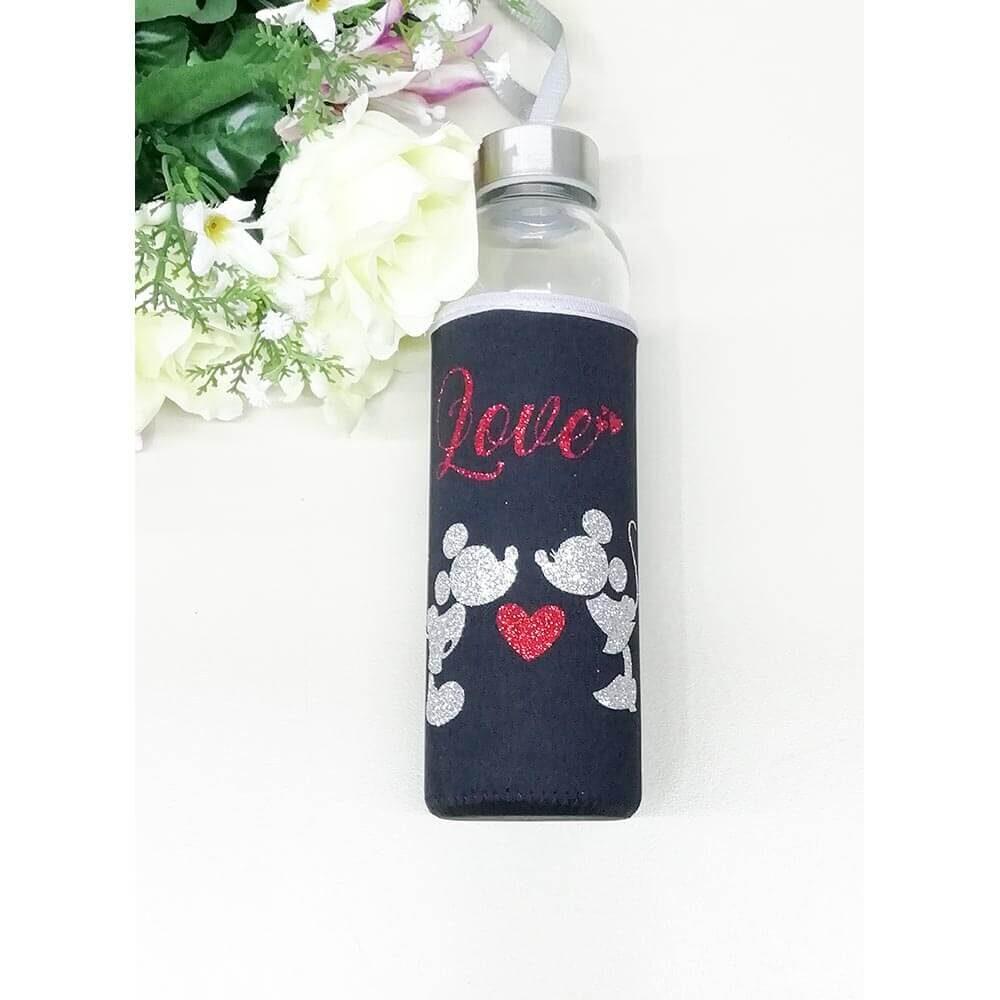 love, minnie, mickey, darilo, steklenica v neoprenu, darilo, unikat, tisk, rerum, love