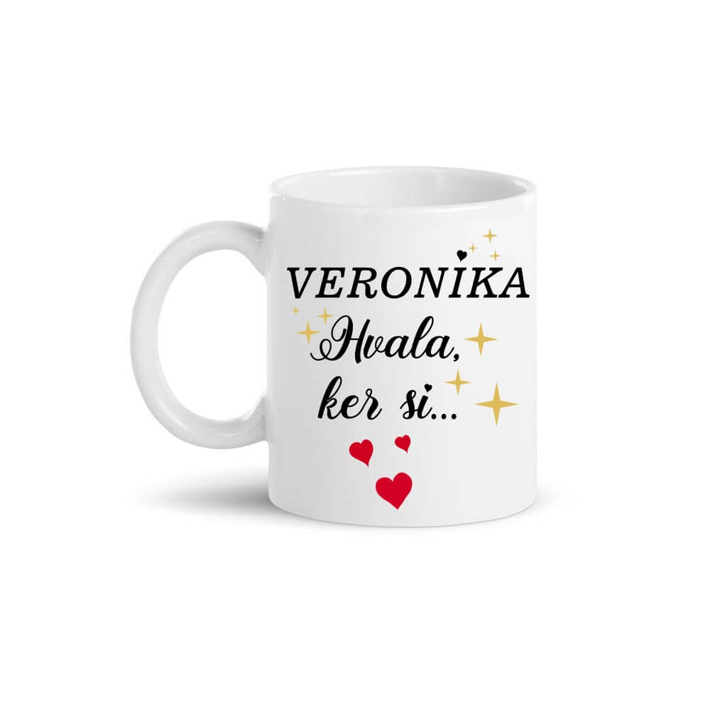 skodelica_hvala_ker_si, skodelica_prijateljstva, skodelica_hvaležnosti, darilo, salica, šalica, šalčka, tisk, darilo, rerum, božično darilo, miklavž
