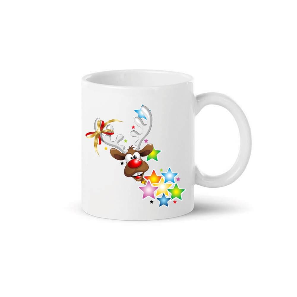 keramična skodelica jelenčku se vrti, keramična_skodelica, božična_skodelica, kava, darilo, gin_skodelica, bozicno_darilo, rerum