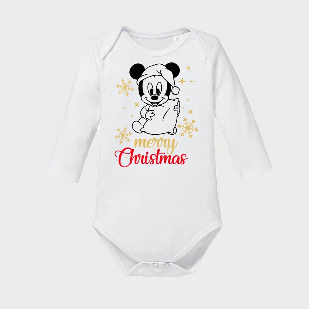 bodi, mickey_baby_bodi, merry christmas bodi, darilo, rerum, tisk, walth disney, darilo_za_praznike, vesel_božič,