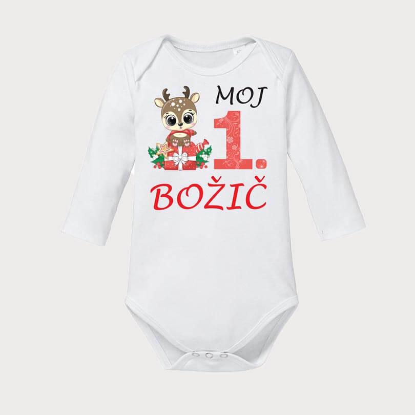 moj_prvi_božič, darilo, bodi_bozic, tisk, jelencek, tiskani bodi, komplet_za_druzino, rerum,