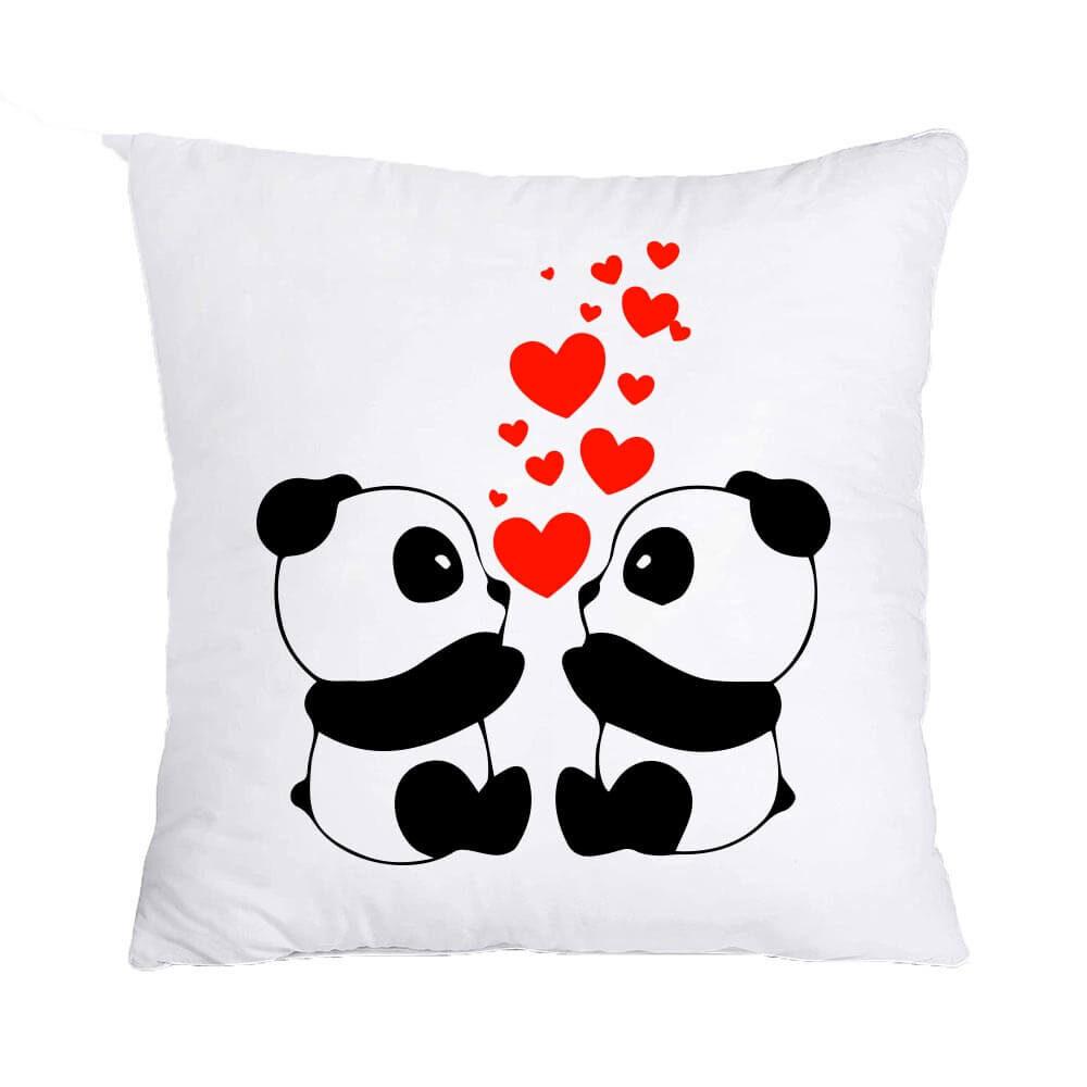 panda love, panda, love, darilo, blazina, vzglavnik tisk, valentin's day, valentinovo,