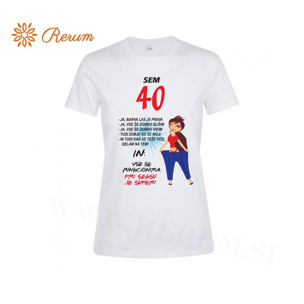 sem 40, darilo, rojstni dan, majica_za_rojstni dan, tisk reum