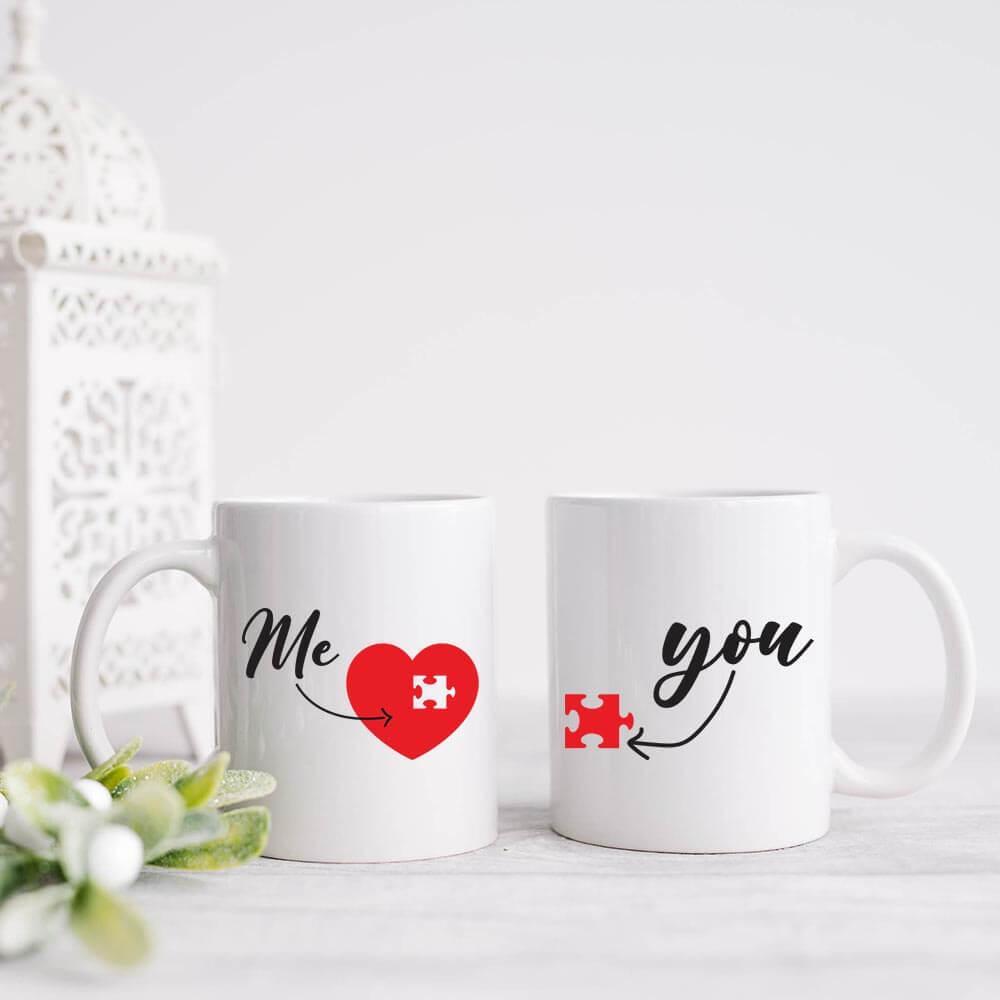 skodelica me&you, darilo, šalica, valentinovo, srce, del mojega srca, rerum