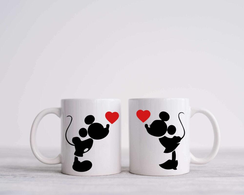 mickey & minnie, darilo, salica, skodelica, tiskana skodelica, darilo, darilo za valentinovo