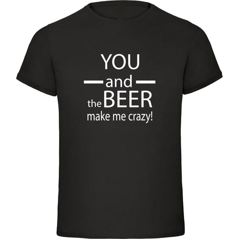 you_and_the_beer, majica_ti_in_pivo, darilo, majica, rerum, tisk, majica_za_njega