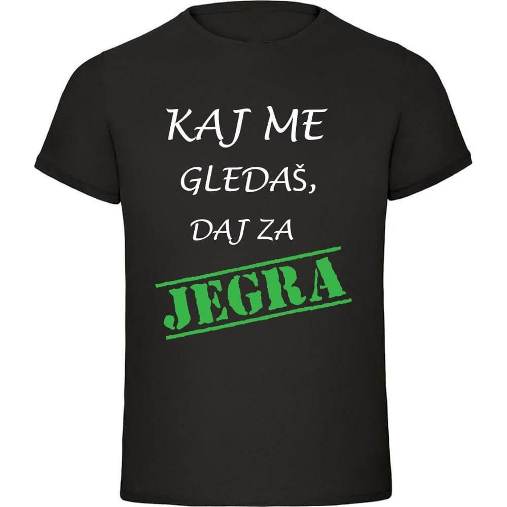 kaj_me_gledaš_daj_za_jegra, darilo, majica, tisk, rerum, unikat