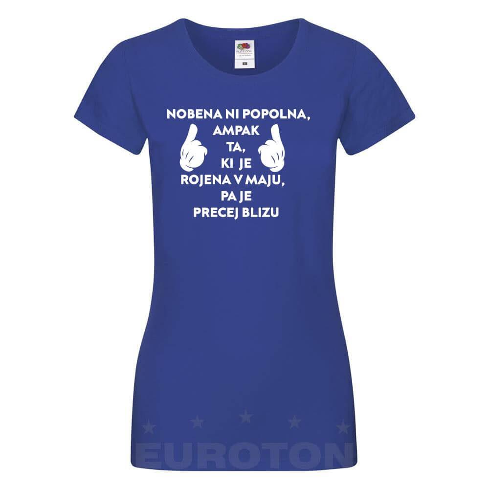 majica_za_rojstni_dan, darilo, majica, popolna, rojena_v_maju, tisk