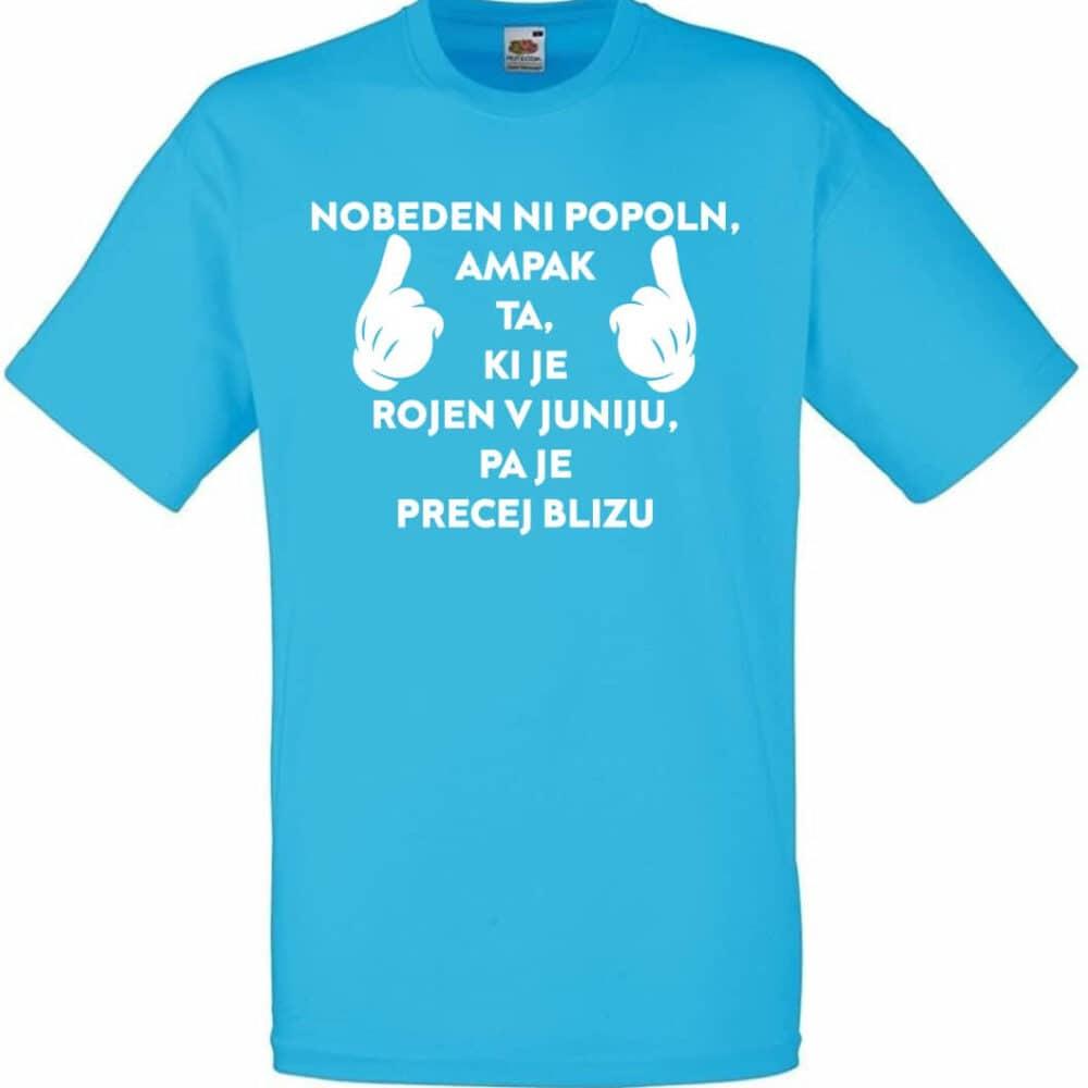nobeden ni popolen, darilo, tisk, unikat, majica, rerum, darilo, majica_za_rojstni_dan