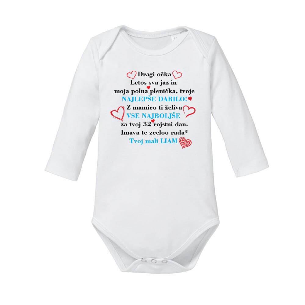 otroški bodi za rojstni dan, bodi_voščilo_za_rojstni_dan, darilo, tisk, največje_darilo, družina, rerum