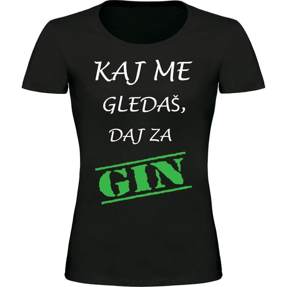 kaj_me_gledaš_daj_za_gin, darilo, tisk, rerum, majica,