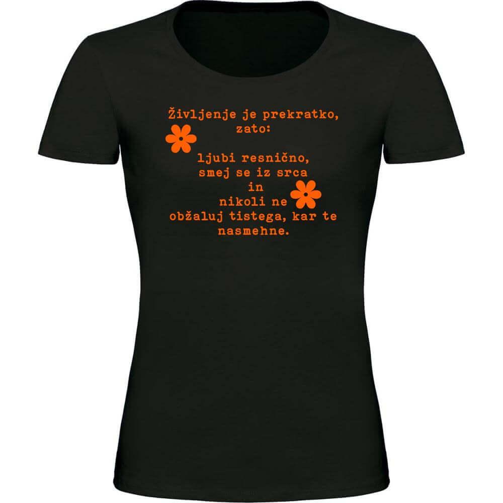 majica, misel, darilo, rerum, tisk na majico, darilo majica, darilo_za_njo