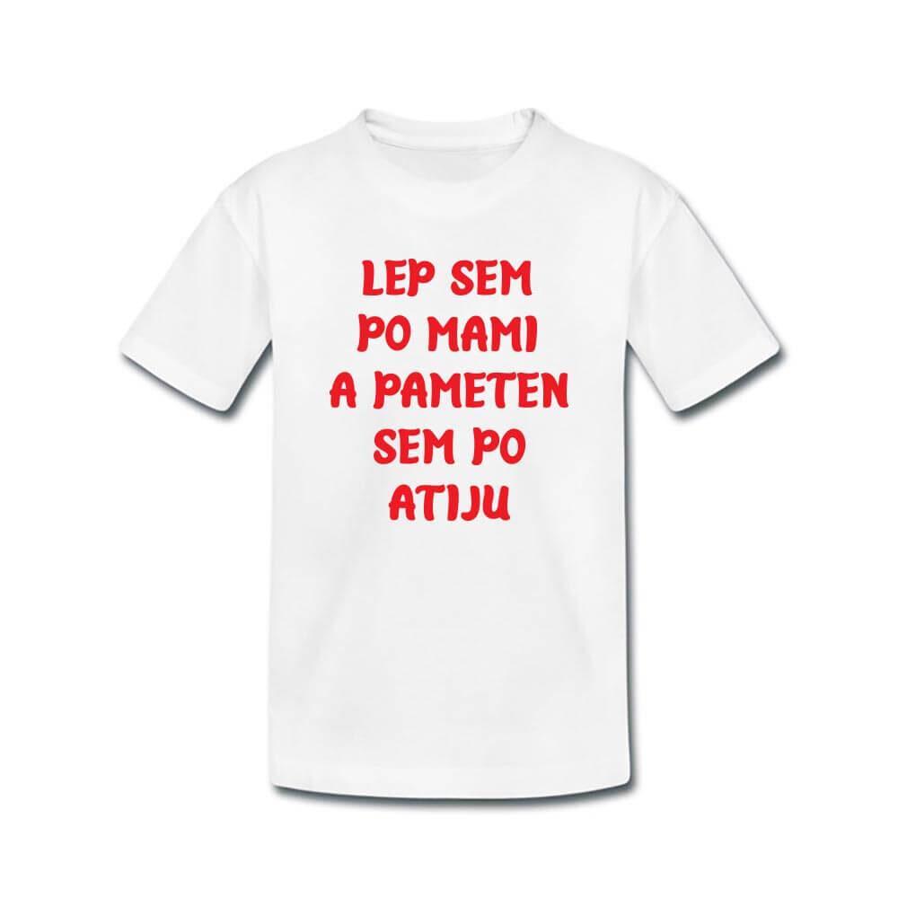 majica, otroška majica, darilo, rerum, tisk, zabavna vsebina,