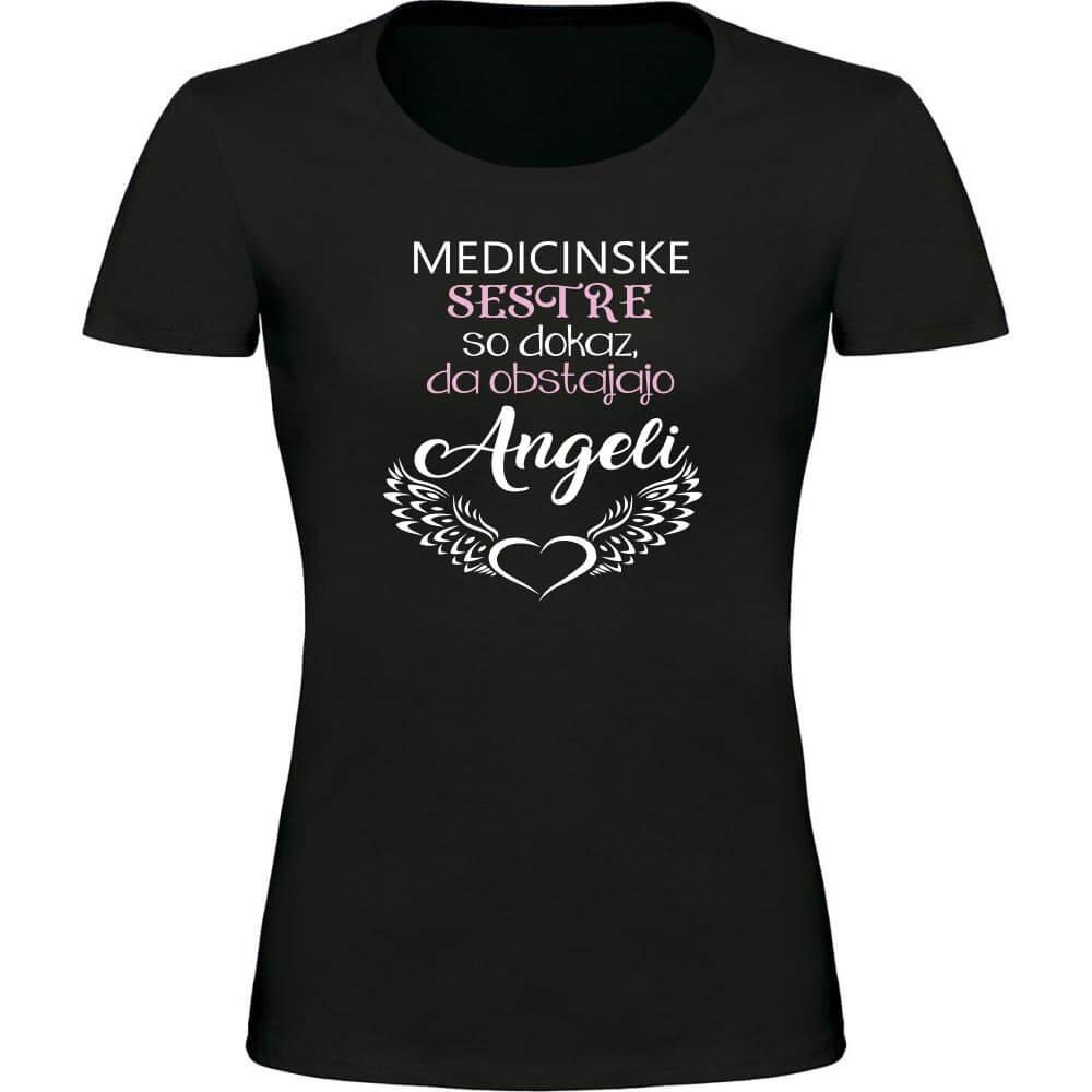 medicinske sestre, majica za medicinsko sestro, majica, darilo, angeli, tisk, tisk_na_majice, rerum